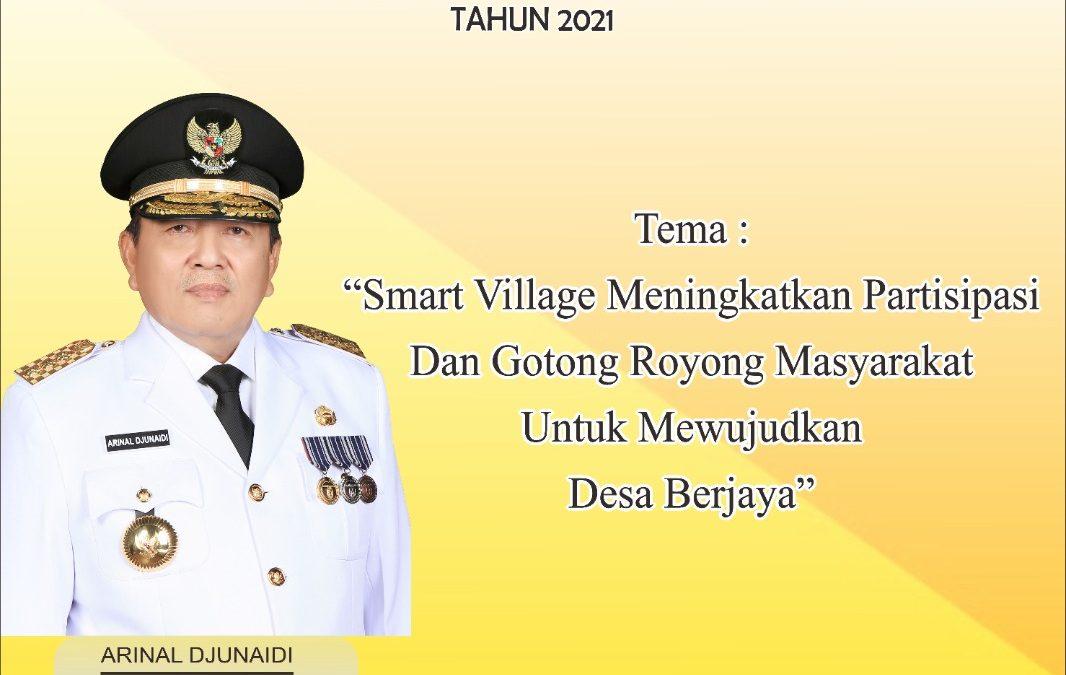 Launching Program Smart Village Lampung 2021
