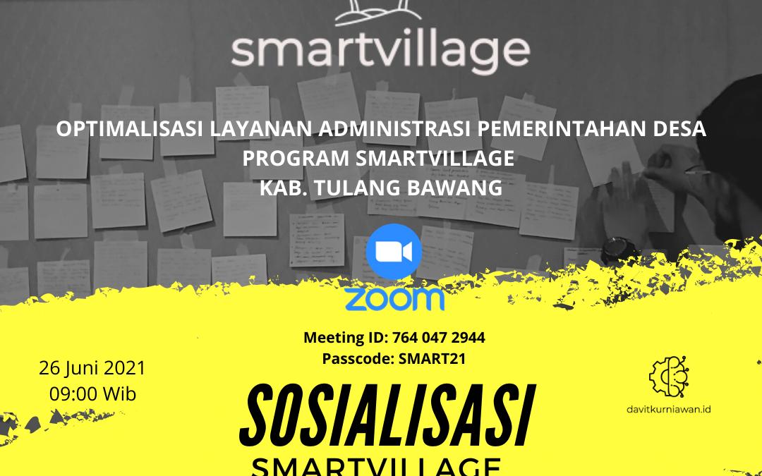 Sosialisasi Smart Village Kab. Tulang Bawang